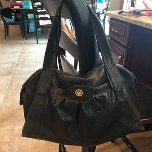 Tory Burch Soft Pebbled Leather Handbag